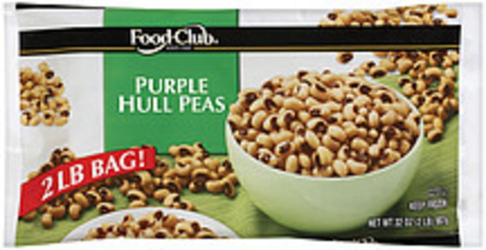 Food Club Purple Hull Peas - 32 oz