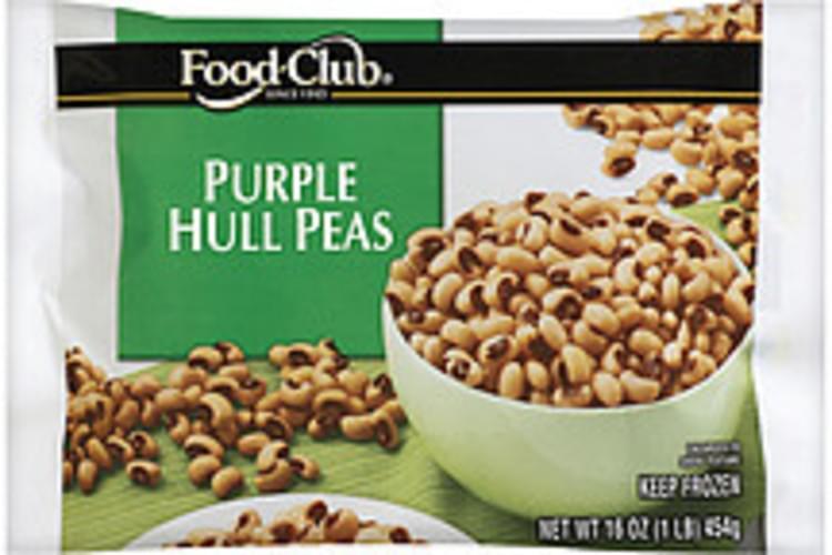 Food Club Purple Hull Peas - 16 oz