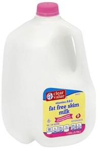 Clear Value Milk Skim, Fat Free