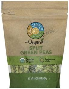 Full Circle Green Peas Organic, Split