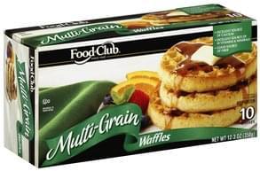 Food Club Waffles Multi-Grain