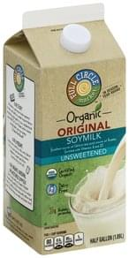 Full Circle Soymilk Organic, Unsweetened, Original