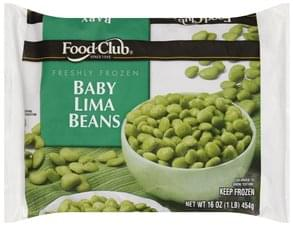 Food Club Lima Beans Baby
