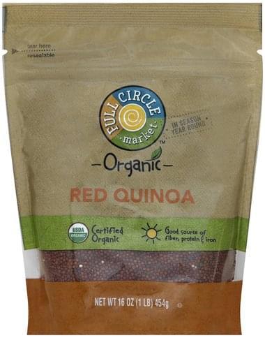 Full Circle Organic, Red Quinoa - 16 oz