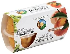 Full Circle Peaches Yellow Cling, Diced