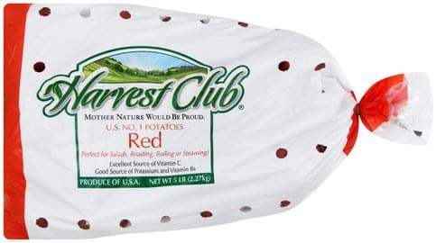 Harvest Club Red Potatoes - 5 lb
