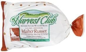 Harvest Club Potatoes Idaho Russet