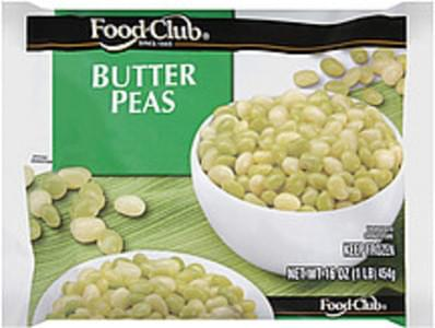 Food Club Butter Peas