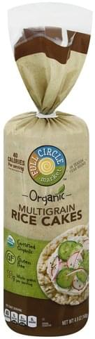 Full Circle Multigrain Rice Cakes - 4.9 oz