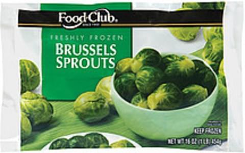 Food Club Brussels Sprouts