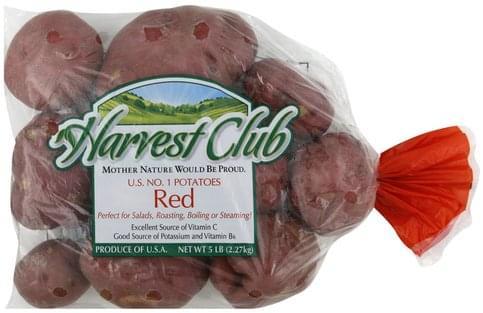 Harvest Club Red Potatoes - 5 lb