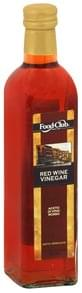 Food Club Vinegar Red Wine