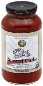 Full Circle Pasta Sauce Roasted Garlic