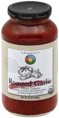 Full Circle Roasted Garlic Pasta Sauce - 24 oz