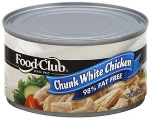 Food Club Chicken Chunk White, in Water