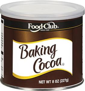 Food Club Baking Cocoa