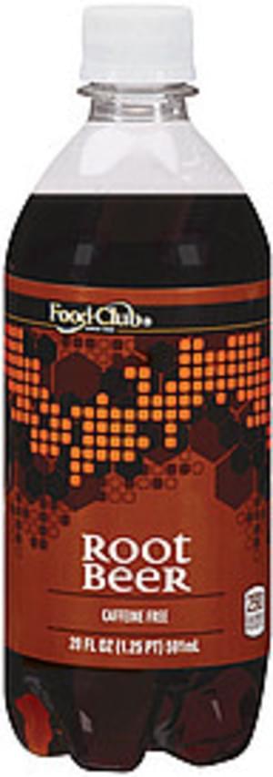 Food Club Root Beer Soda - 20 oz