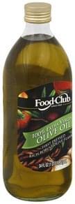 Food Club Olive Oil 100% Extra Virgin