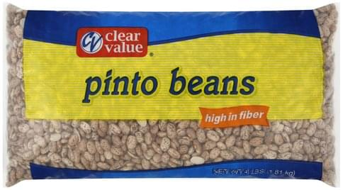 Clear Value Pinto Beans - 4 lb
