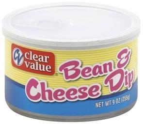 Clear Value Dip Bean & Cheese