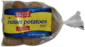 Clear Value Potatoes Russet