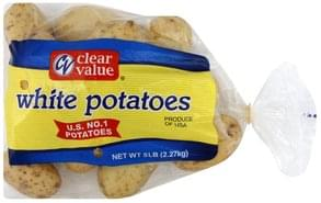 Clear Value Potatoes White