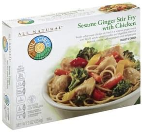 Full Circle Sesame Ginger Stir Fry with Chicken