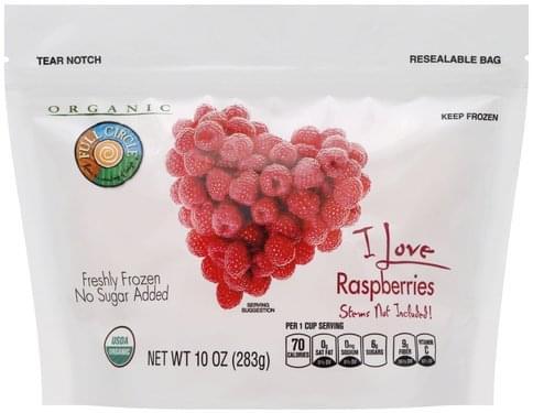 Full Circle Raspberries - 10 oz