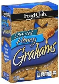 Food Club Grahams Low Fat, Honey