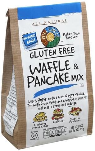 Full Circle Gluten Free Waffle & Pancake Mix - 21 oz
