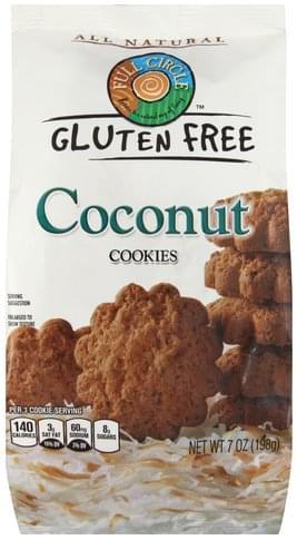 Full Circle Coconut Cookies - 7 oz