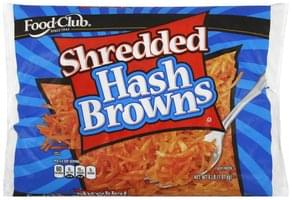 Food Club Hash Browns Shredded