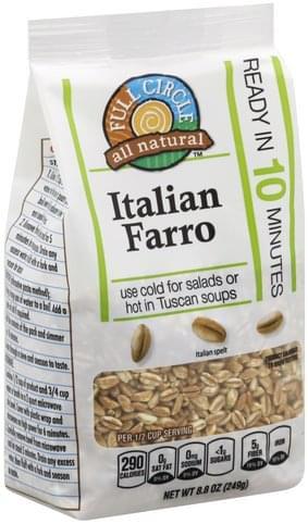 Full Circle Italian Farro - 8.8 oz