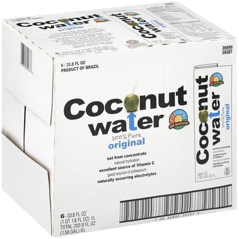 Full Circle Original Coconut Water - 6 ea