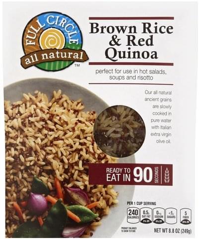 Full Circle Brown Rice & Red Quinoa - 8.8 oz