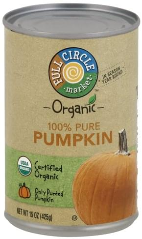 Full Circle 100% Pure Pumpkin - 15 oz