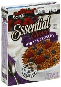 Food Club Cereal Wheat & Crunchy