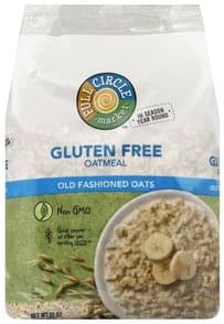 Full Circle Oatmeal Gluten Free, Old Fashioned Oats