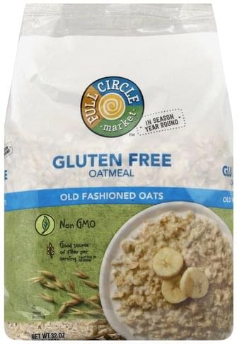 Full Circle Gluten Free, Old Fashioned Oats Oatmeal - 32 oz