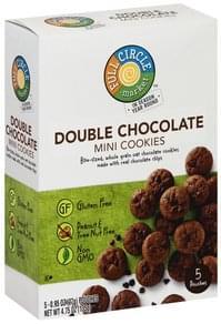 Full Circle Cookies Double Chocolate, Mini