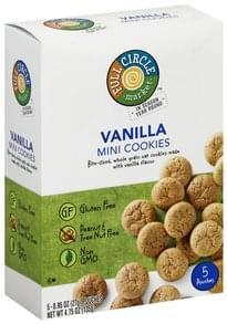 Full Circle Cookies Vanilla, Mini