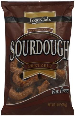 Club Sourdough, Classic Style Pretzels