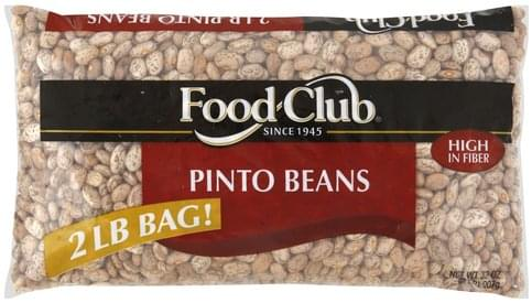 Food Club Pinto Beans - 32 oz