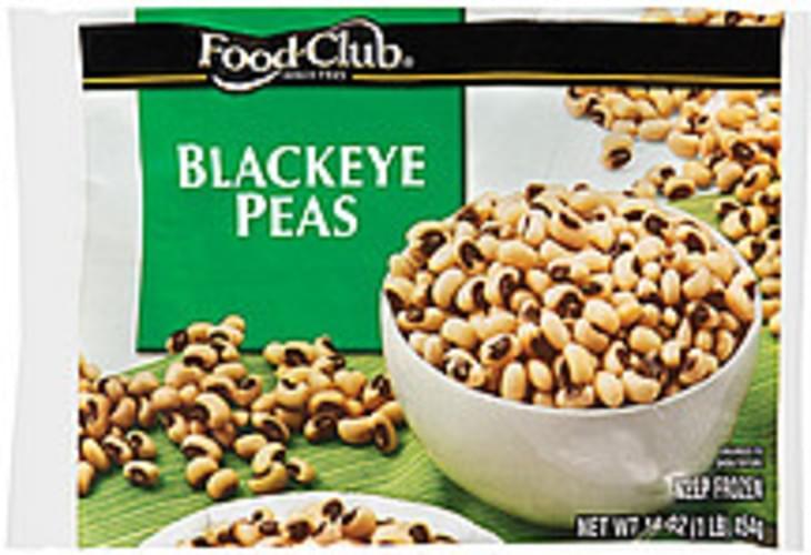 Food Club Blackeye Peas - 16 oz
