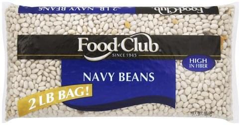 Food Club Navy Beans - 32 oz