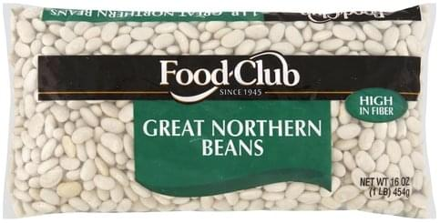 Food Club Great Northern Beans - 16 oz
