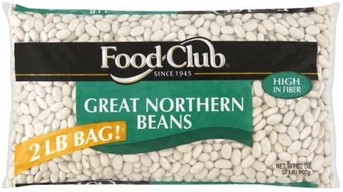 Food Club Great Northern Beans - 32 oz