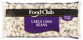 Food Club Lima Beans Large