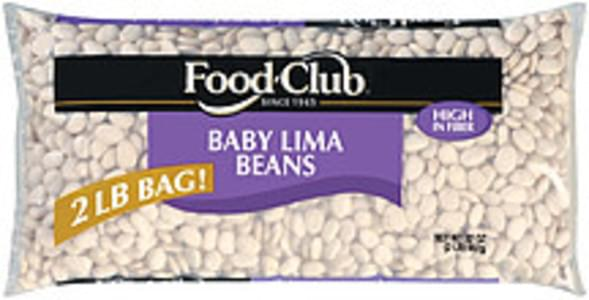 Food Club Beans Baby Lima