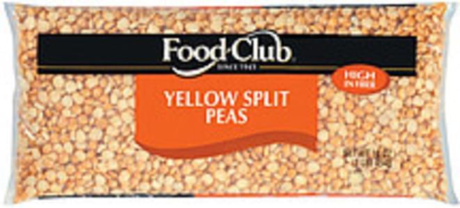 Food Club Peas Yellow Split